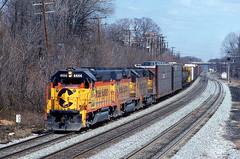 1982 03-27 1143 CS GP40-2-4444 W/B Hyattsville, MD