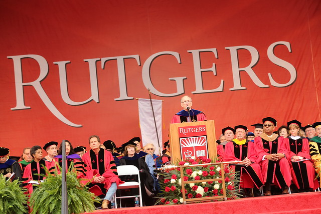 Rutgers University Commencement 2018