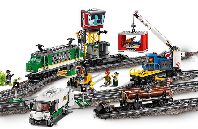 LATO 2018 LEGO City - Pociągi  (3)