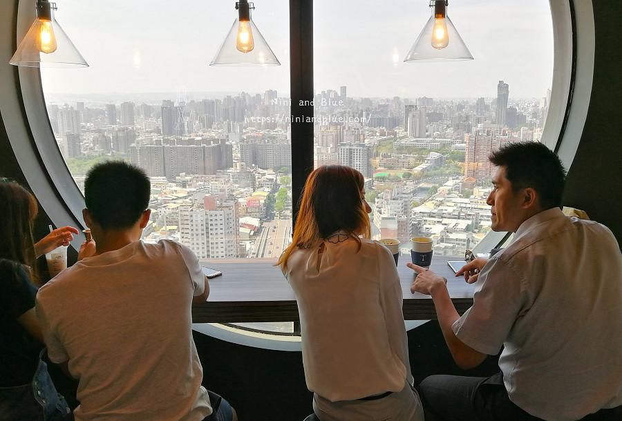 咖啡任務 台中最高咖啡館 夜景22