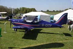 G-CITF Evektor EV-97 [2015-4223] Popham 050518