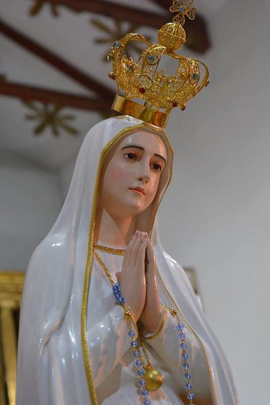 Virgen peregrina de Fátima