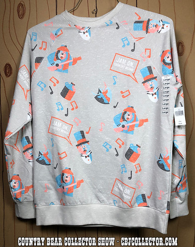 2018 Disney Style Country Bear Jamboree Sweatshirt - Country Bear Collector Show #152