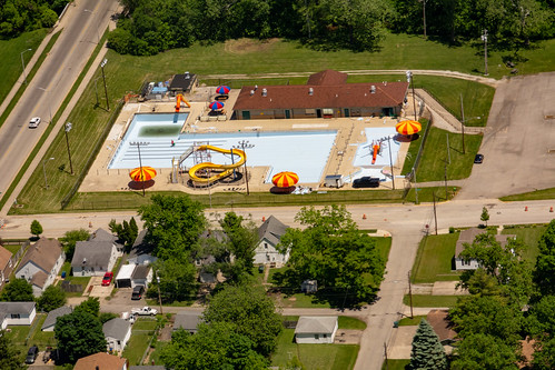 Aerial View of Cordell Municipal Pool