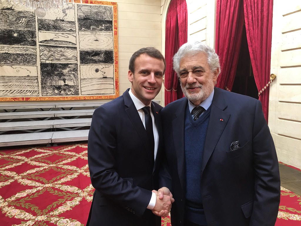 French President Macron meets Europa Nostra's delegation