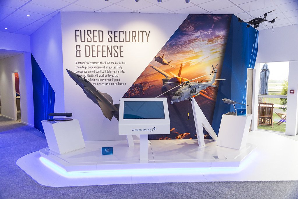 Lockheed Martin Chalet at ILA Berlin