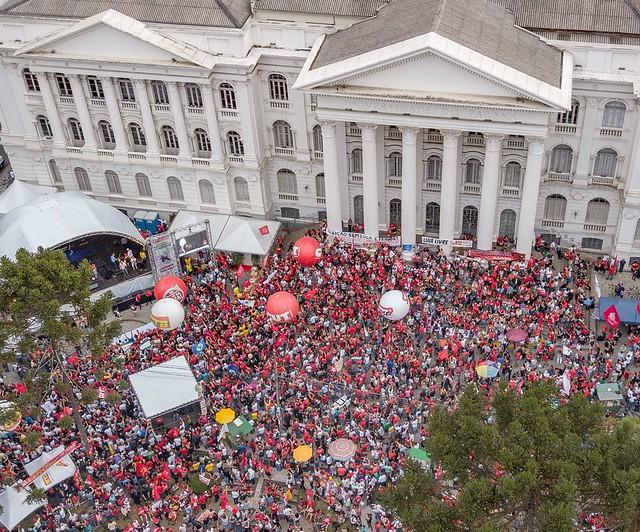 Mobilização do Dia do Trabalhador em Curitiba - Créditos:  Ricardo Stuckert
