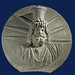 Serapis-Helios - Black basanite disc with a bust of the god Helios-Sarapis by petrus.agricola