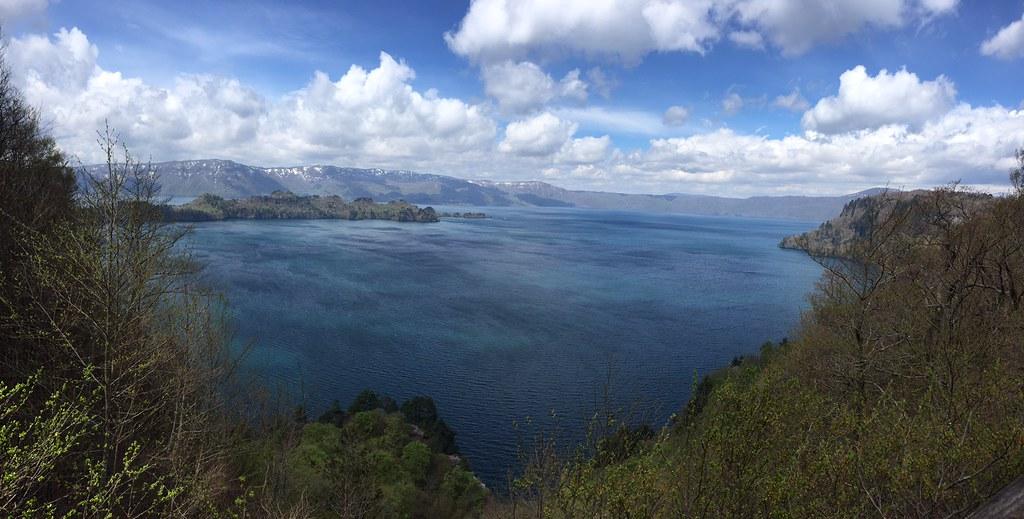 瞰湖台からの十和田