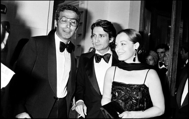 Роми Шнайдер с мужем Даниэлем Бьязини