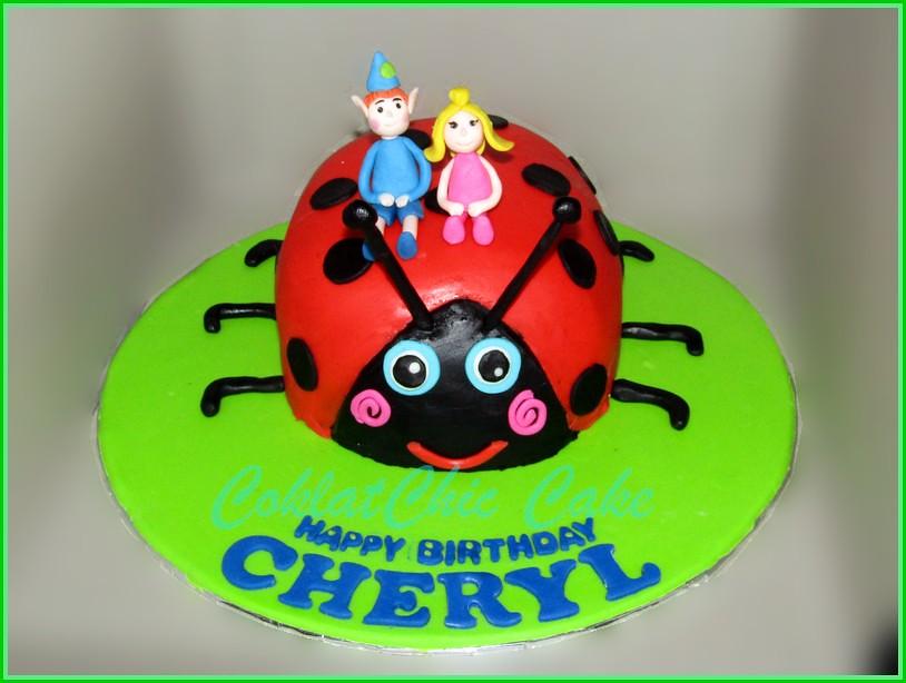 Cake Lady Bug CHERYL 15 cm