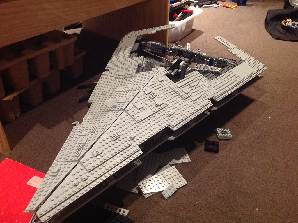 Lego Star Destroyer rebuild