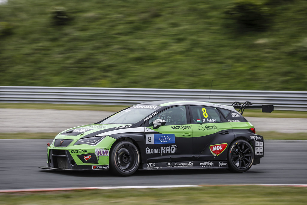08 NAGY Norbert, (hun), Seat Cupra TCR team Zengo Motorsport, action during the 2018 FIA WTCR World Touring Car cup of Zandvoort, Netherlands from May 19 to 21 - Photo Francois Flamand / DPPI