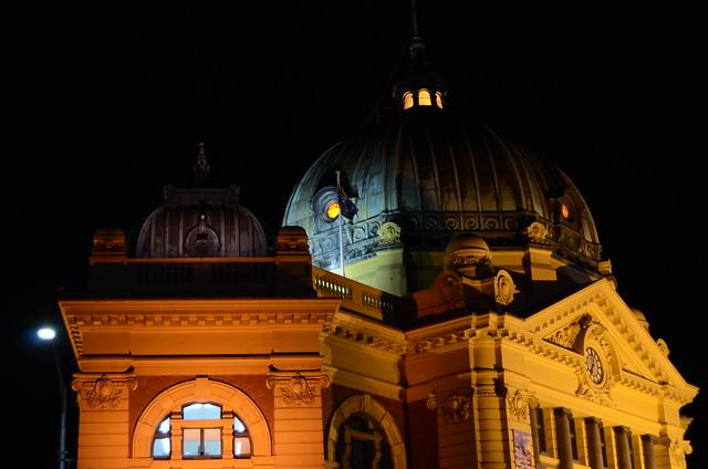 Flinder's Street Station, Melbourne, Australia