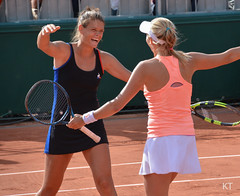 Chloé & Myrtille win