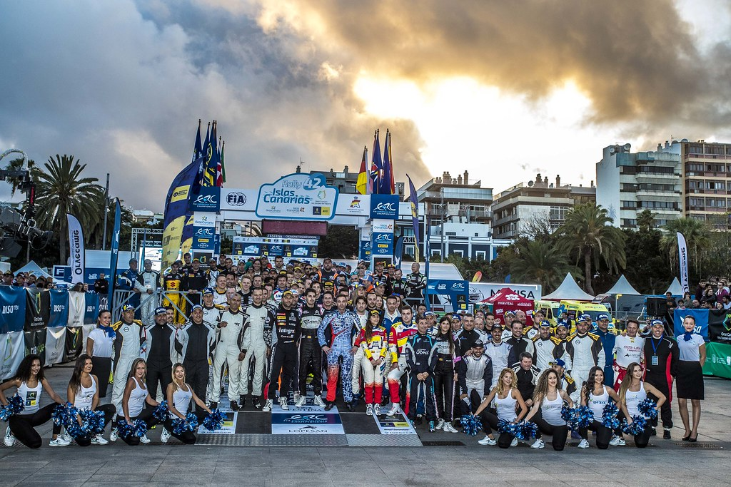 Drivers official photo, during the 2018 European Rally Championship ERC Rally Islas Canarias, El Corte Inglés,  from May 3 to 5, at Las Palmas, Spain - Photo Gregory Lenormand / DPPI