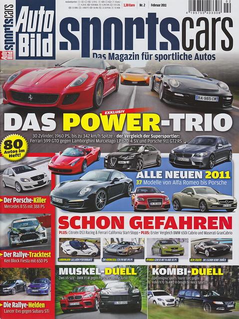 Auto Bild Sportscars 2/2011