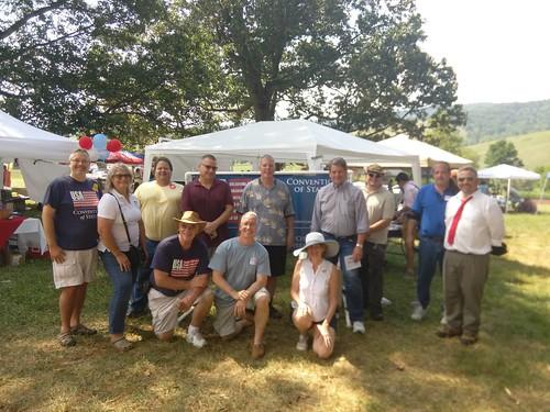 COS Virginia at Liberty Farm Festival