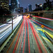Downtown LA - 110 Fwy by slinkygenius