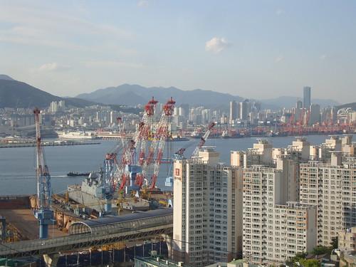 Busan nach den hohen Feinstaubwerten