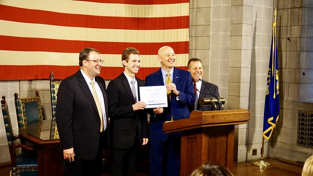 Gov. Ricketts, Education Department Recognize 22 High School Students for Top ACT Scores