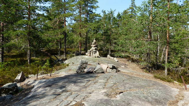 Mustavuori, highest point (114,2 m) of Espoo (Nuuksio national park, 20180514)