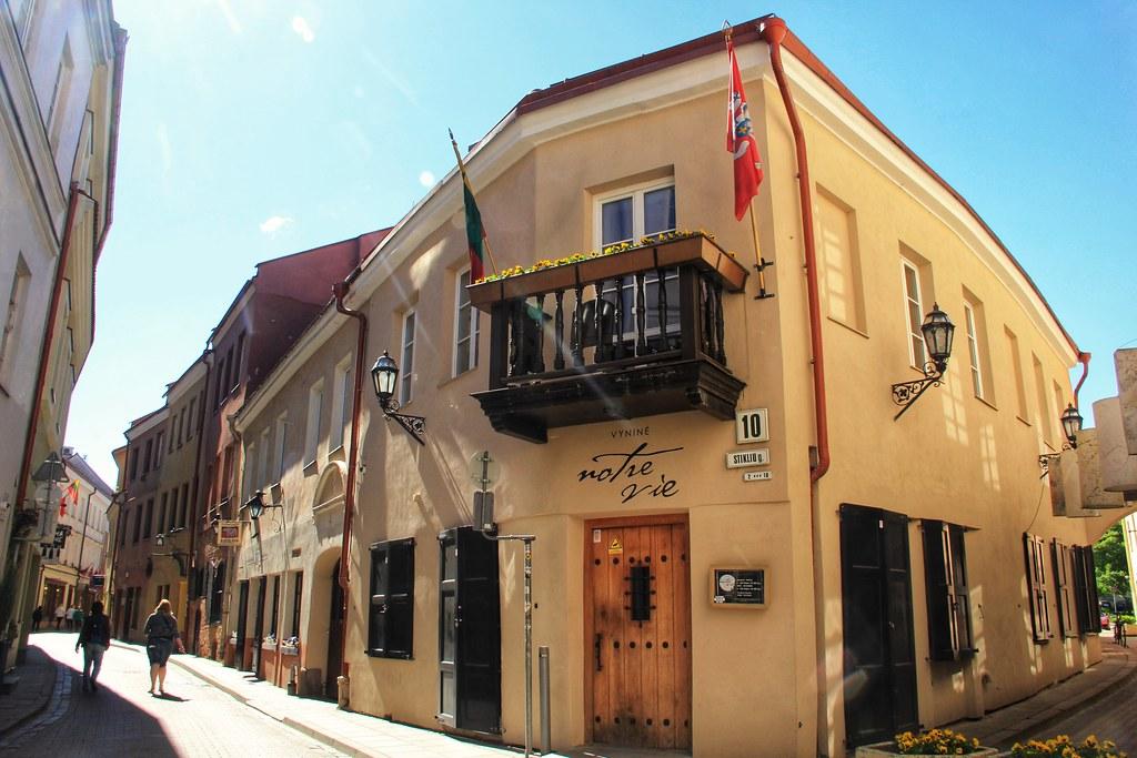 Stikliu Street, Vilnius