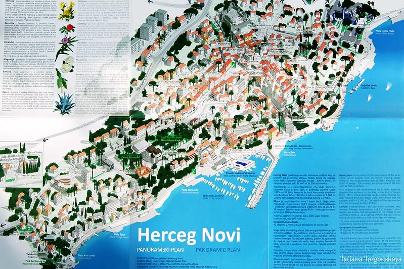 Панорамная карта Херцег Нови