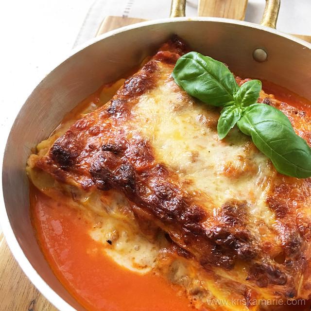 Lasagna from Ravioli & Co.