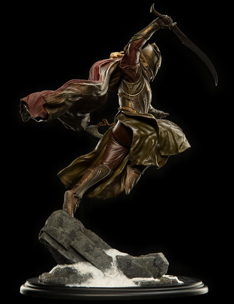 令人興奮的聯手出擊!!WETA《哈比人:五軍之戰》戰鬥中的精靈與矮人 Elf and Dwarves In Battle 1/6 比例全身雕像作品