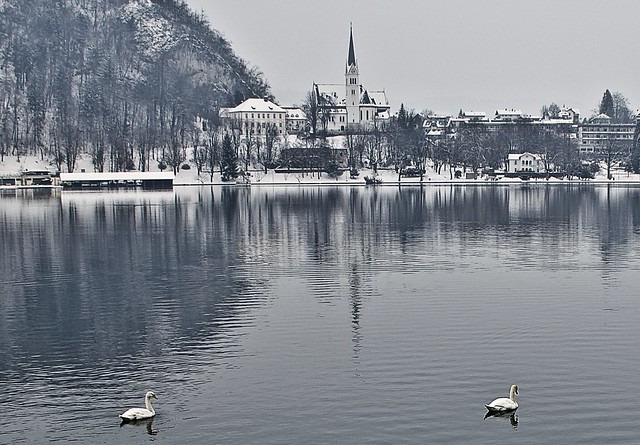 "The ""peaceful"" Lake Bled"