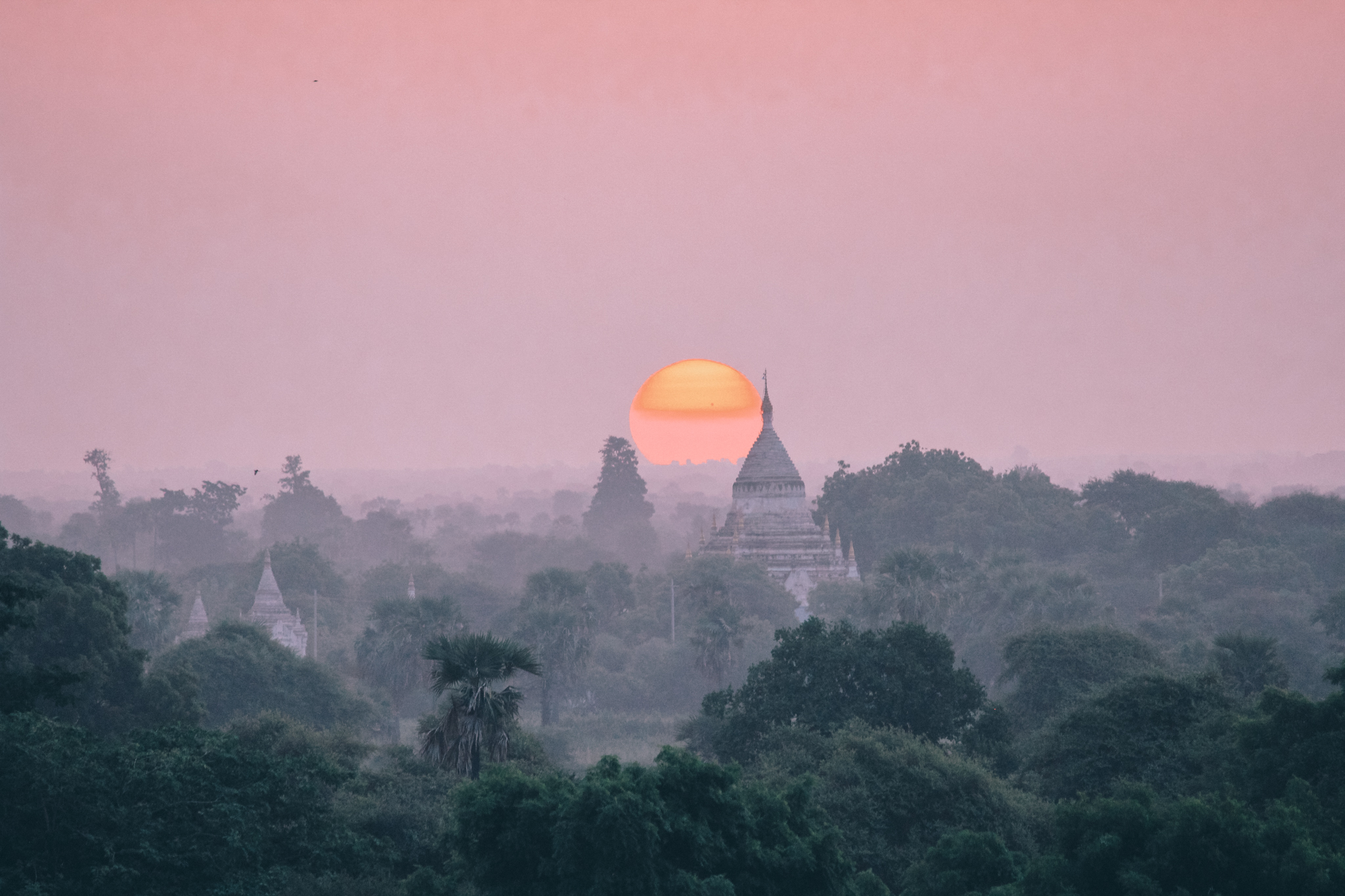 what to do in Bagan - sunset