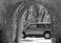 4Runner Through An Archway; Roslyn, New York