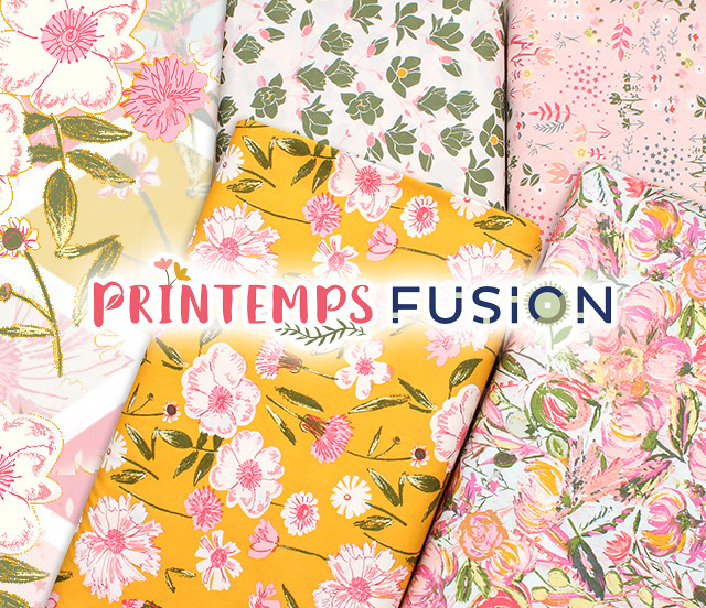 Art Gallery Fabrics Printemps Fusion Collection by AGF Studio