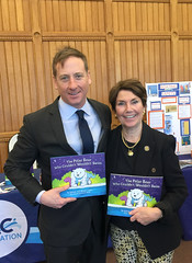 Rep. Livvy Floren at Water Safety Day at the Capitol on May 2, 2018.