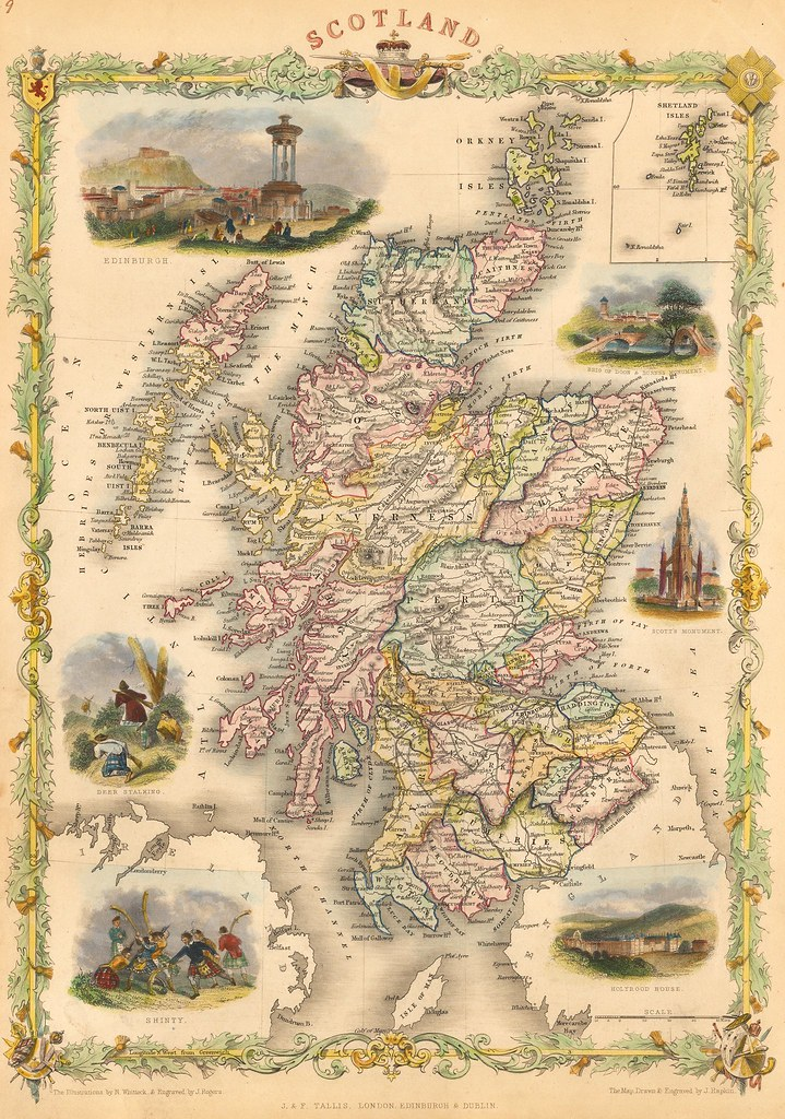 John Tallis - Scotland (1851)