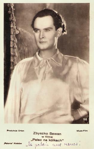 Zbigniew Sawan in Palac na kólkach (1932)