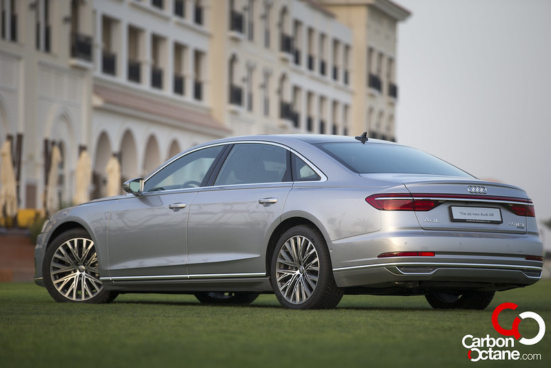 First Drive of the All New 2019 Audi A8 carbonoctane 8