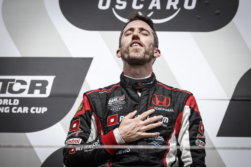 GUERRIERI Esteban (ARG), ALL-INKL.COM Munnich Motorsport, Honda Civic  TCR, portrait during the 2018 FIA WTCR World Touring Car cup of Nurburgring, Nordschleife, Germany from May 10 to 12 - Photo Francois Flamand / DPPI