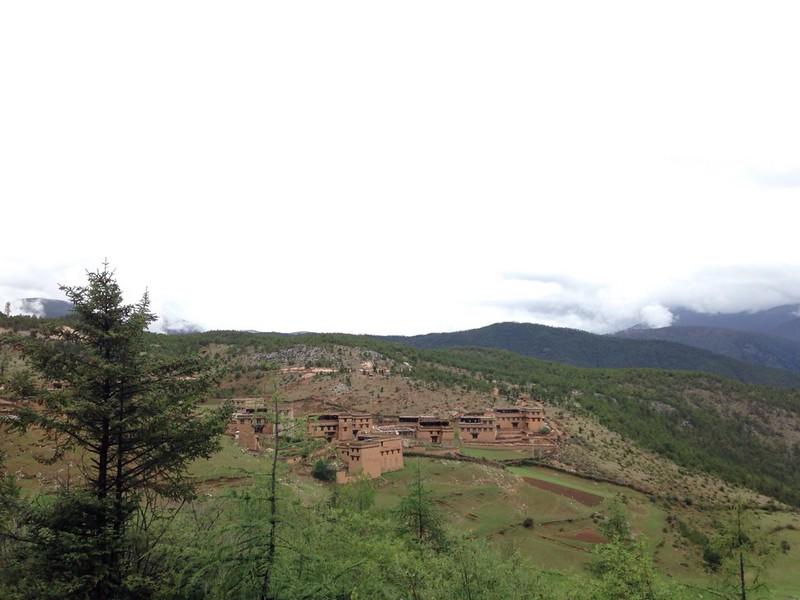 亜丁風景区から四川省の香格里拉鎮(日瓦)へ, 6