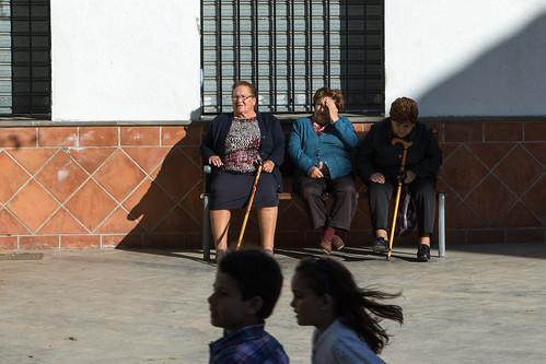 Women in Güéjar Sierra, Granada