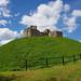 Stafford Castle in the Sunshine