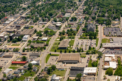 Aerial View of Richmond's Government Campus