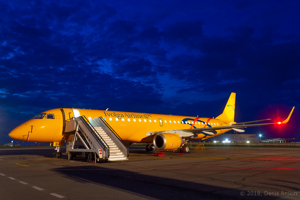 Embraer Саратовские Авиалинии Ivolga Airlines фото 1