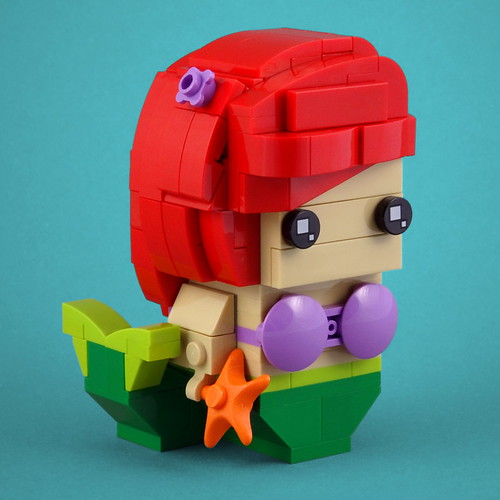 BrickHeadz: The Little Mermaid