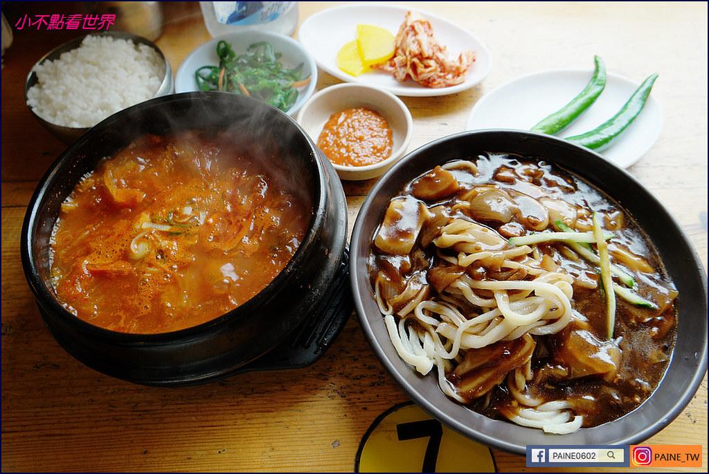 omori 泡菜鍋與手工炸醬麵