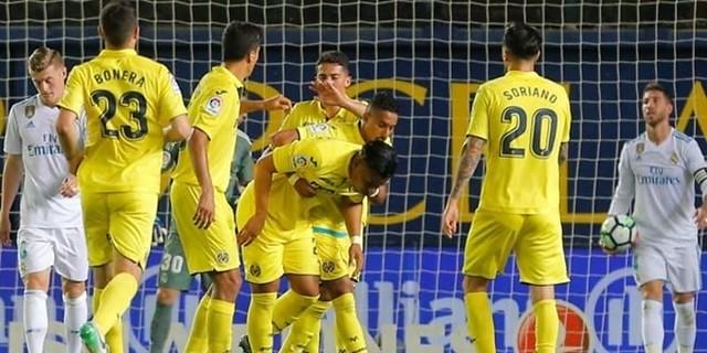 Real Madrid Diimbangi Villarreal Dengan Skor 2-2 Dan Madrid Finis Diposisi Ketiga