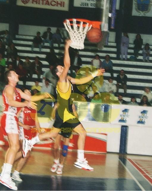 Un equipo de Archivo: Cajacanarias-Caja San Fernando (Temporada 1989-90)
