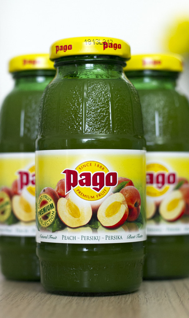 Pago Fruit Juice - Peach