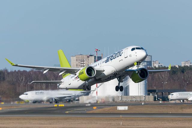 Air Baltic Airbus A220-300 (Bombardier CS300)